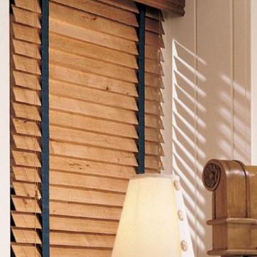 houten jaloezie 50mm Verano met ladderband distress