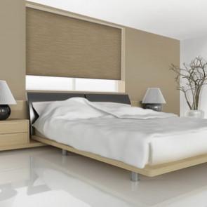 Rolgordijn verduisterd metallic rug (Budget)